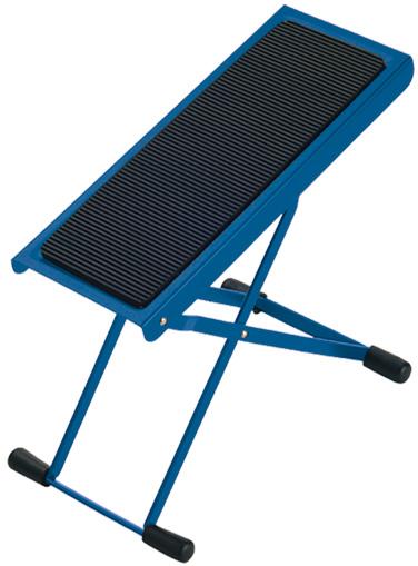 K+M Fußbank blau 14670