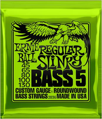 Ernie Ball Regular Slinky Bass 5  045/130