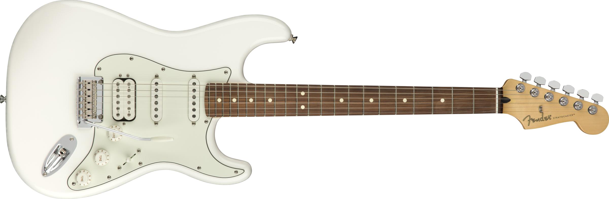 Fender Player Strat HSS PF Polar White