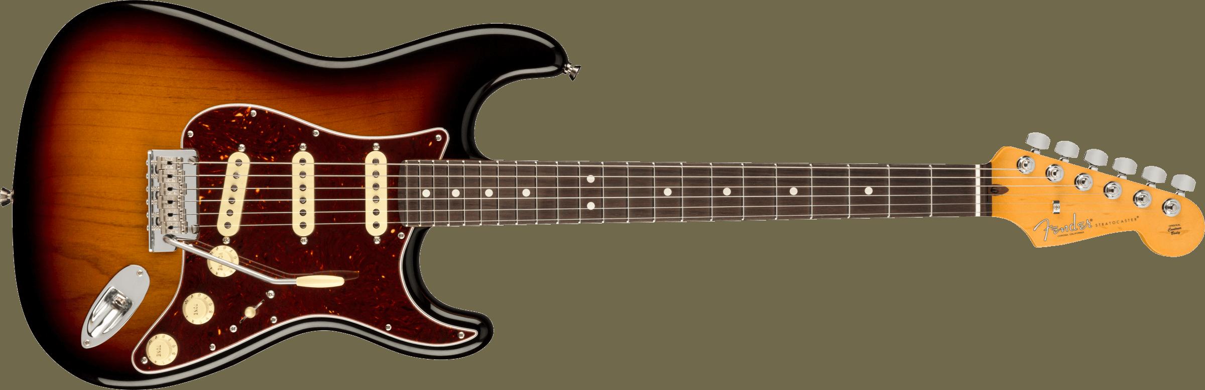 Fender American Pro II Stratocaster SSS  RW 3TSB