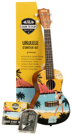 Kala Learn to play Elvis Blue Hawaii Concert Uke