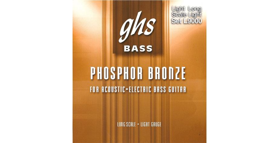 GHS Acoustic Bass Phosphor Bronze 040/096  9000L
