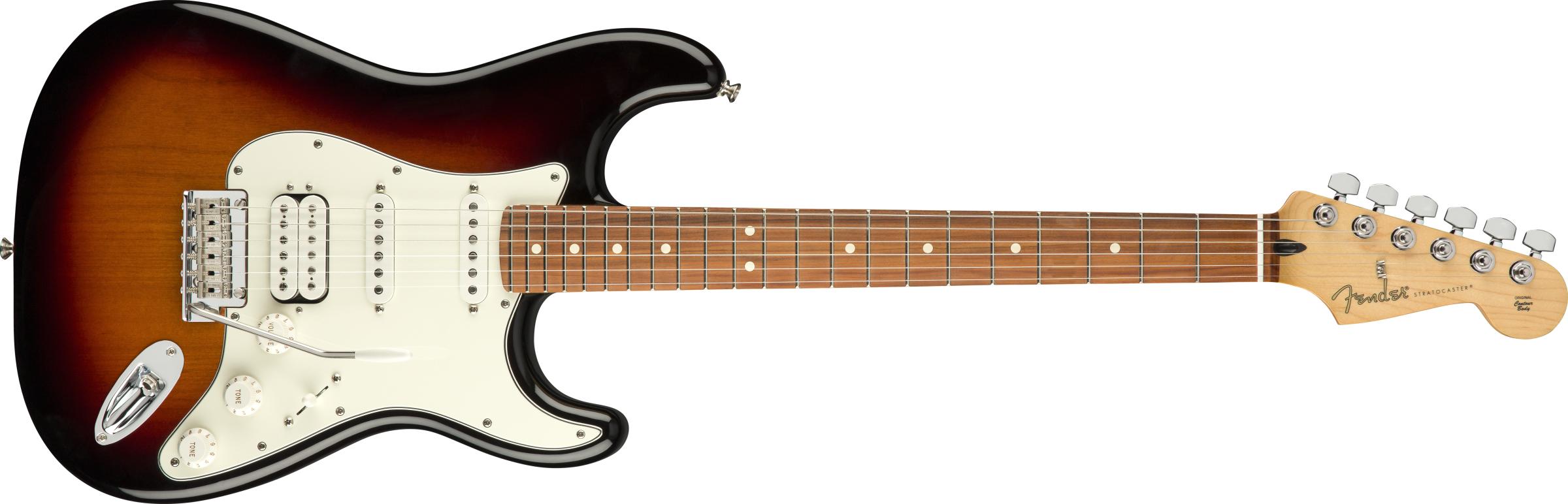 Fender Player Strat HSS PF 3-Tone