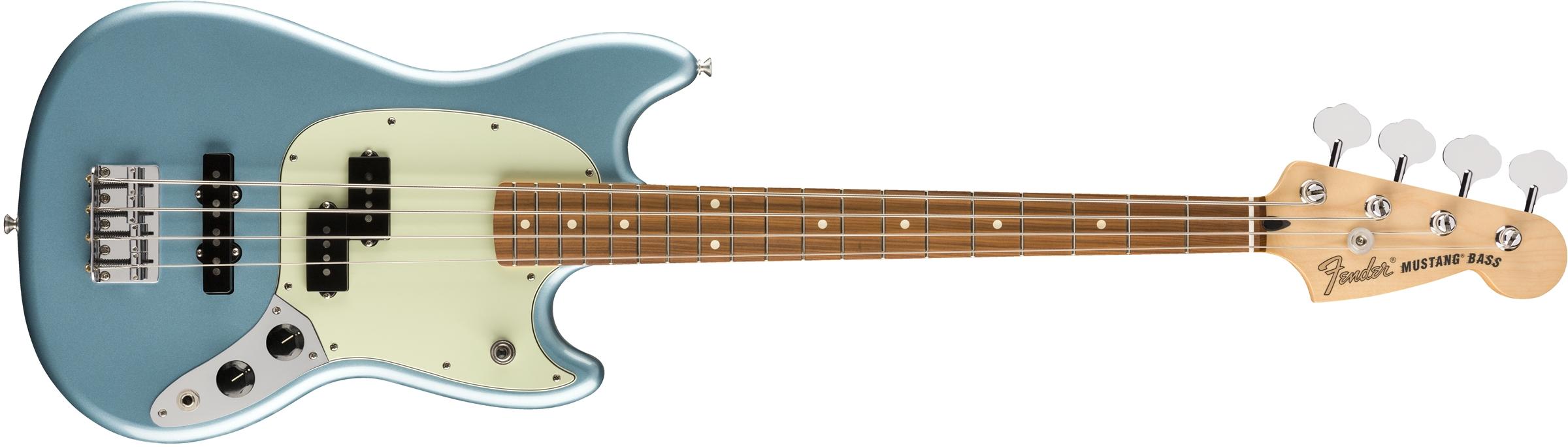 Fender Ltd. Edition Mustang Bass PJ  PF Tidepool