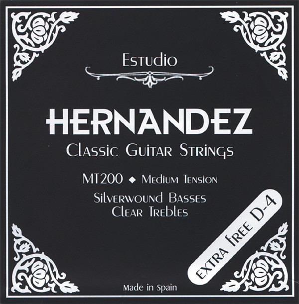 Hernandez Klassik schwarz Medium Tension