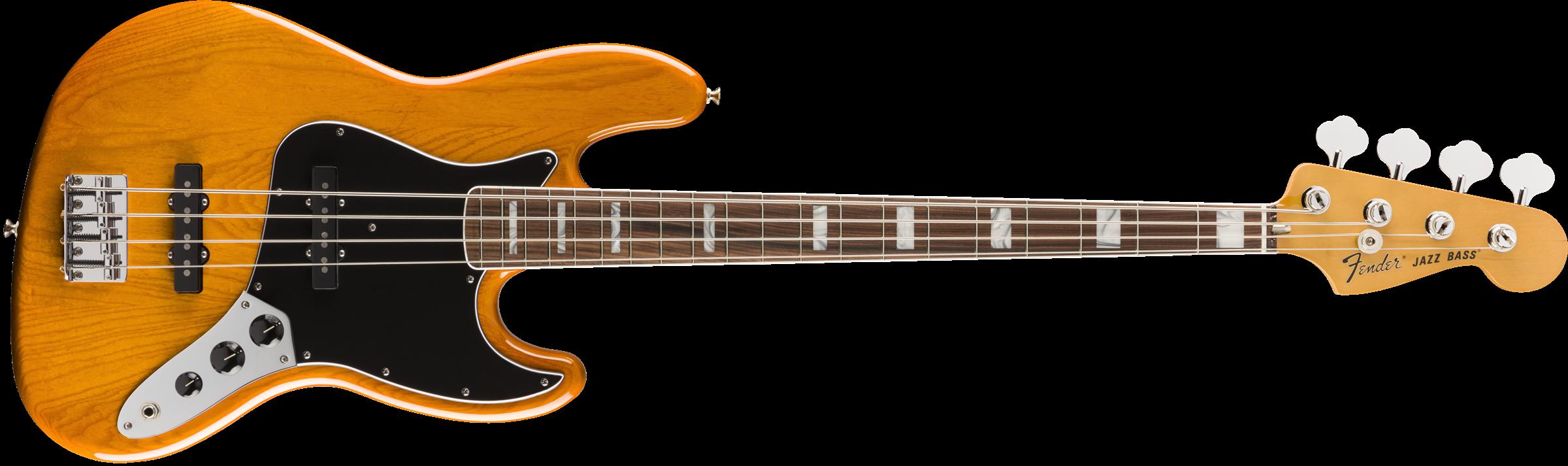 Fender Vintera Jazz Bass 70 PF Aged Natural