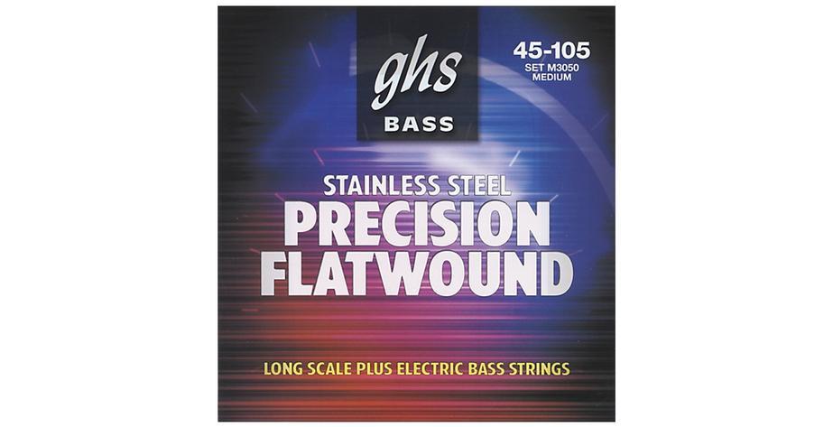 GHS  Precision Flatwound Bass 045/105   3050