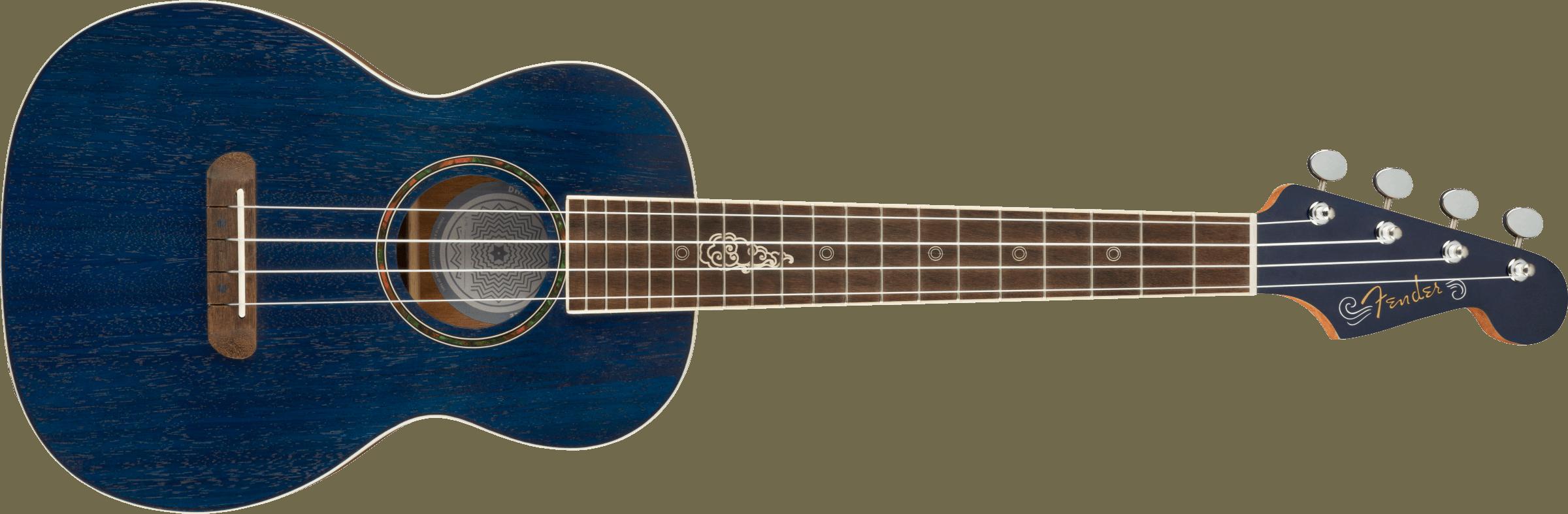 Fender Dhani Harrison Tenor Uke Sapphire Blue