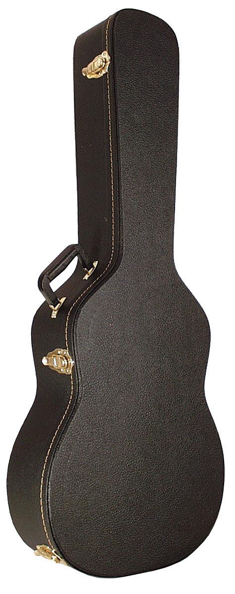 SCC Koffer Westerngitarre flacher Deckel