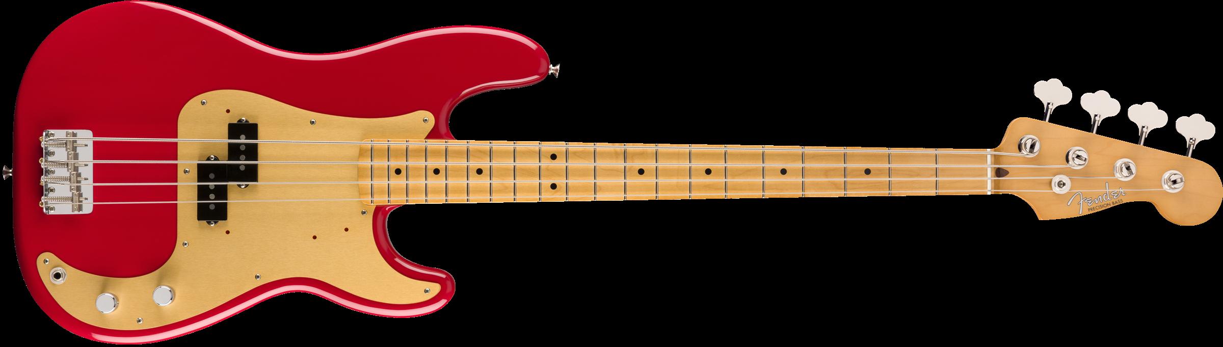 Fender Vintera P-Bass 50 Dakota Red