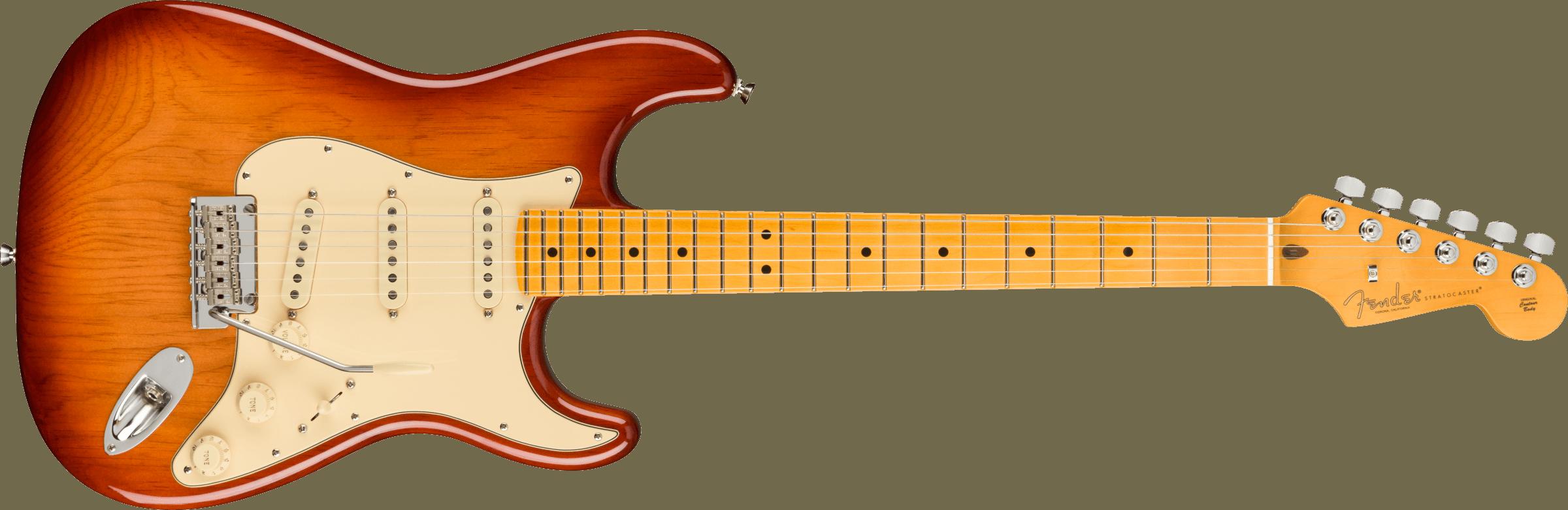 Fender American Pro II Stratocaster SSS M Sienna Sunburst