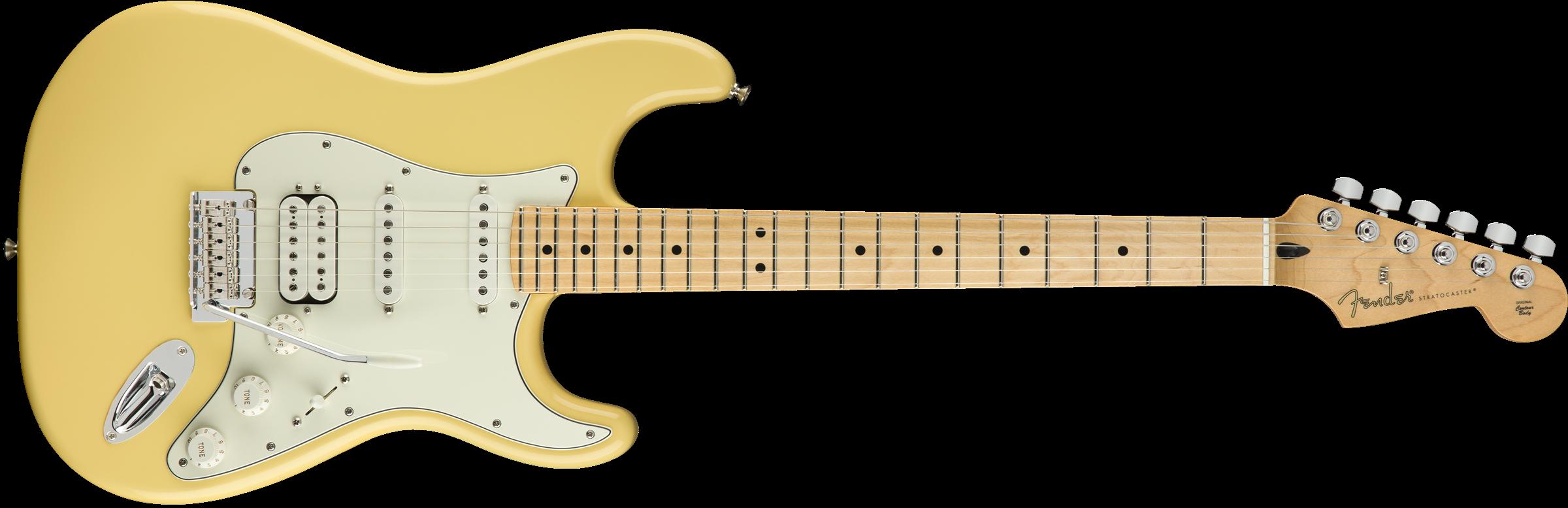 Fender Player Strat HSS Maple Buttercream