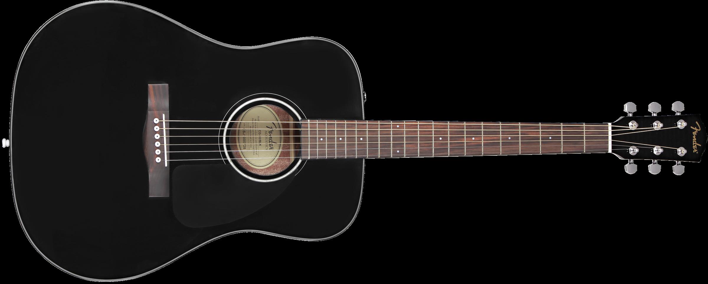 Fender CD 60 V3 BK