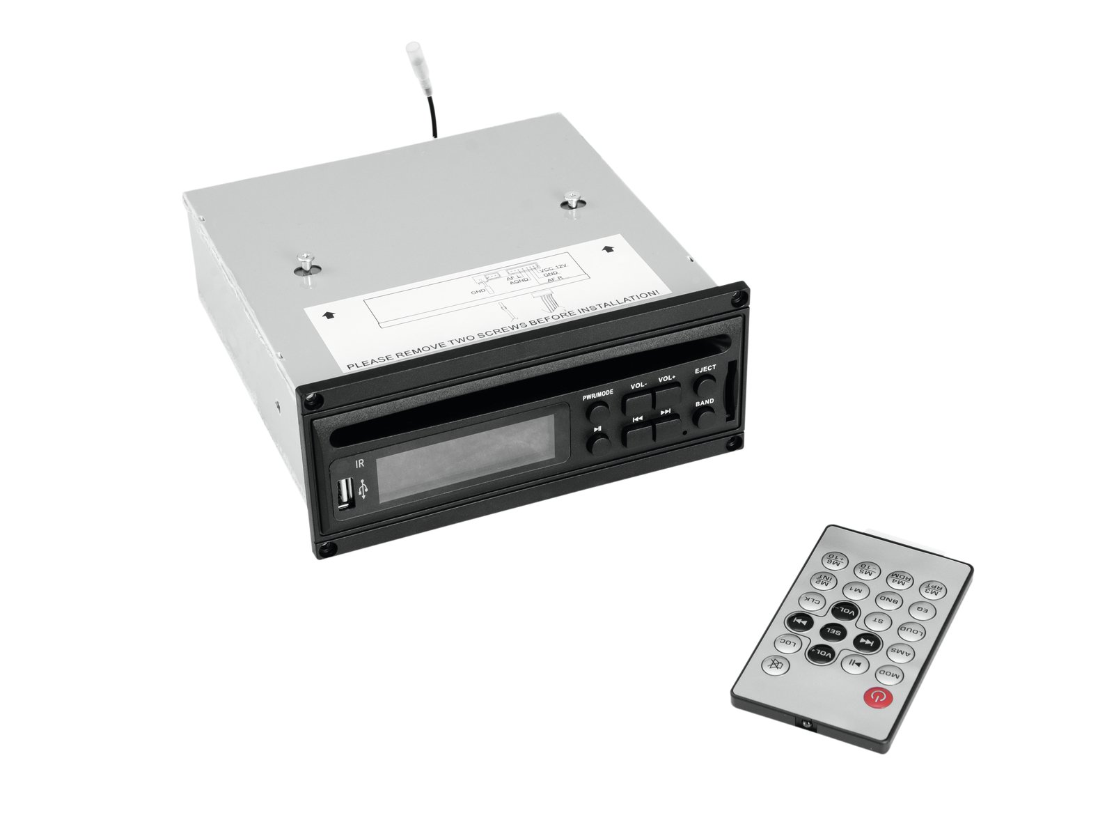 Omnitronic MOM 10BT4 CD-Player Modul mit USB + SD