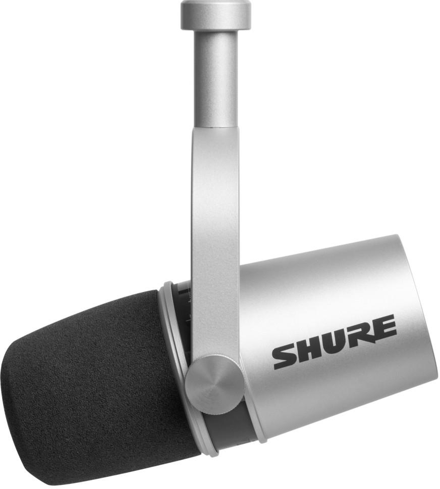 Shure MV 7 XLR/USB Silber