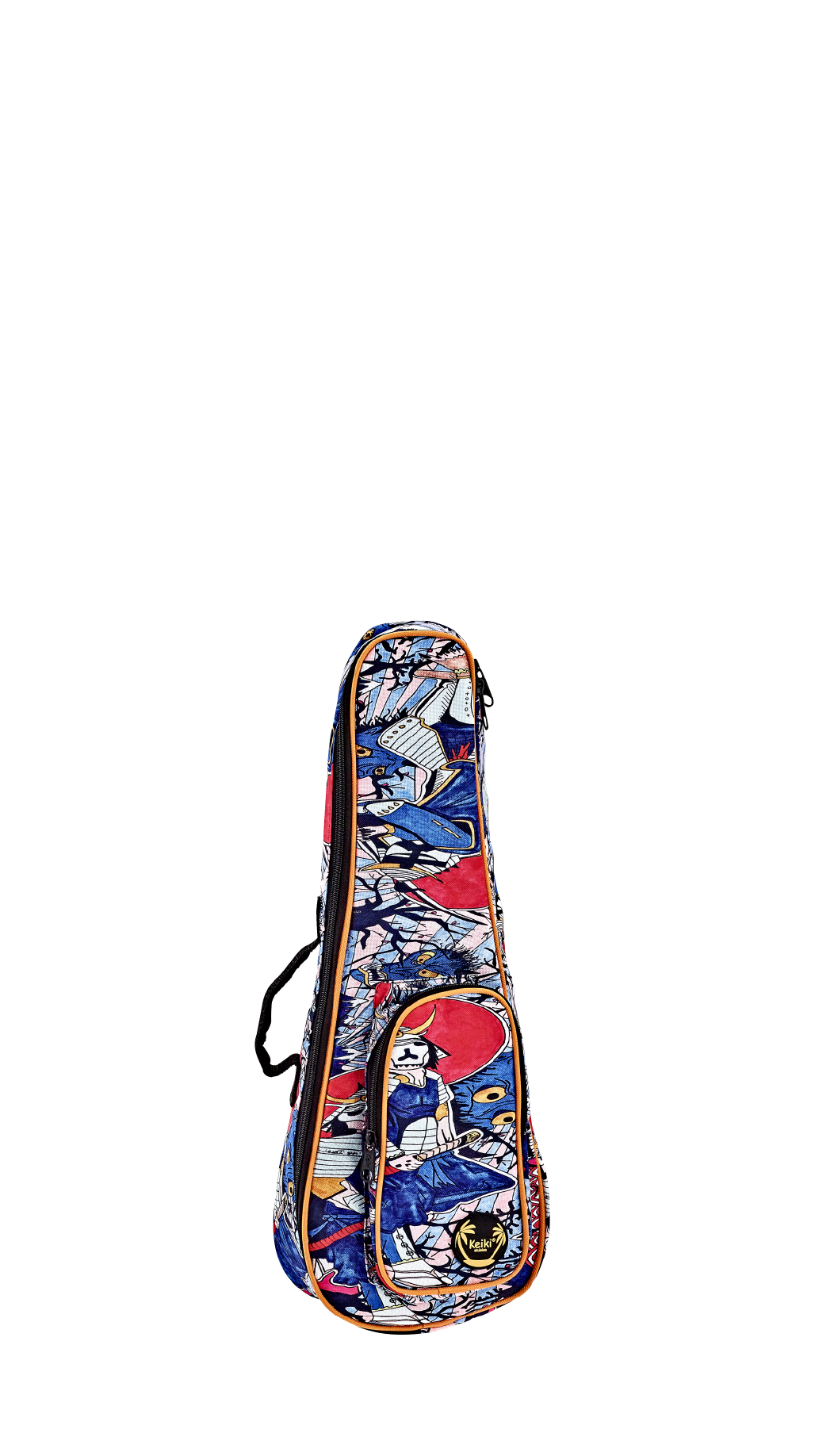 Ortega Ukulele Tasche Soprano Samurai KUB-SR-SO