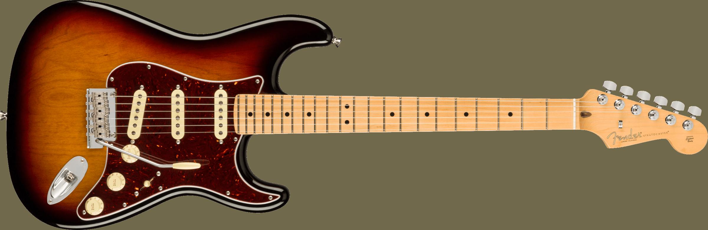 Fender American Pro II Stratocaster SSS M 3TSB