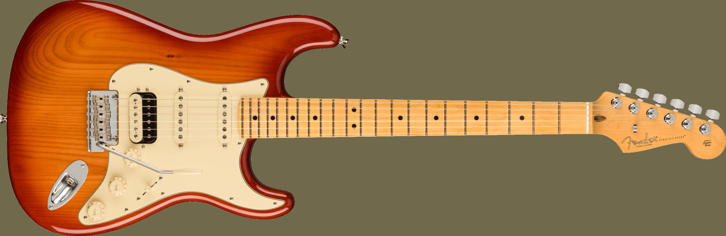 Fender American Pro  II Stratocaster HSS M SSB
