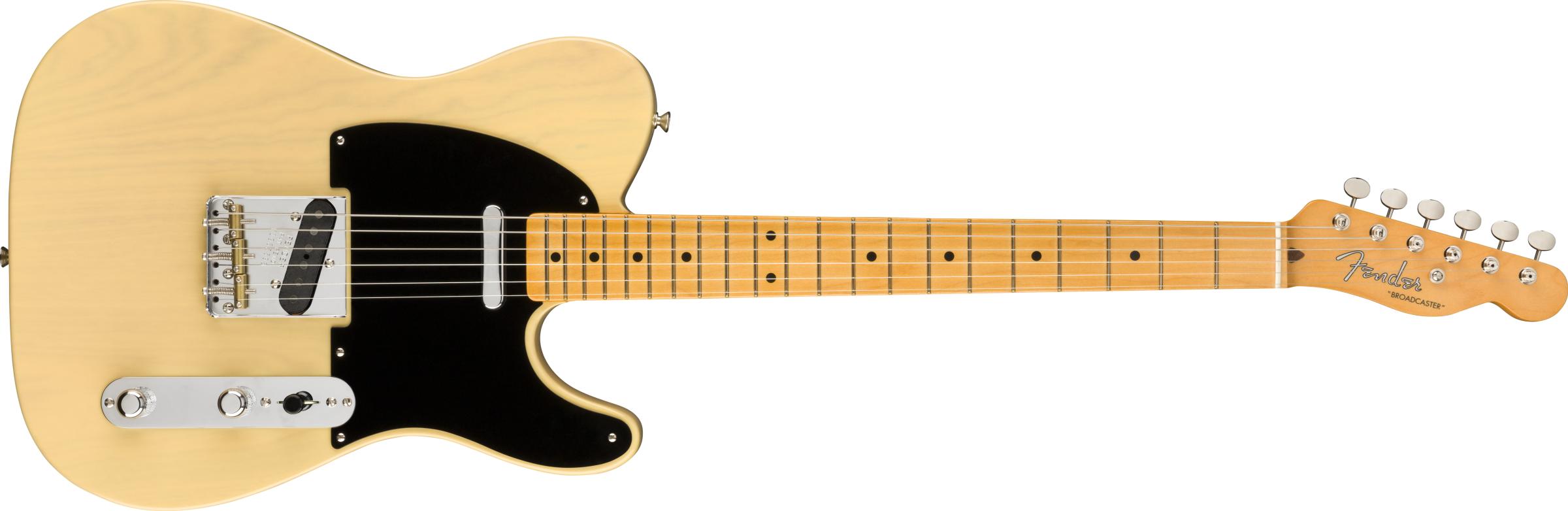 Fender 70th Ann. Broadcaster Maple Blackguard Blonde