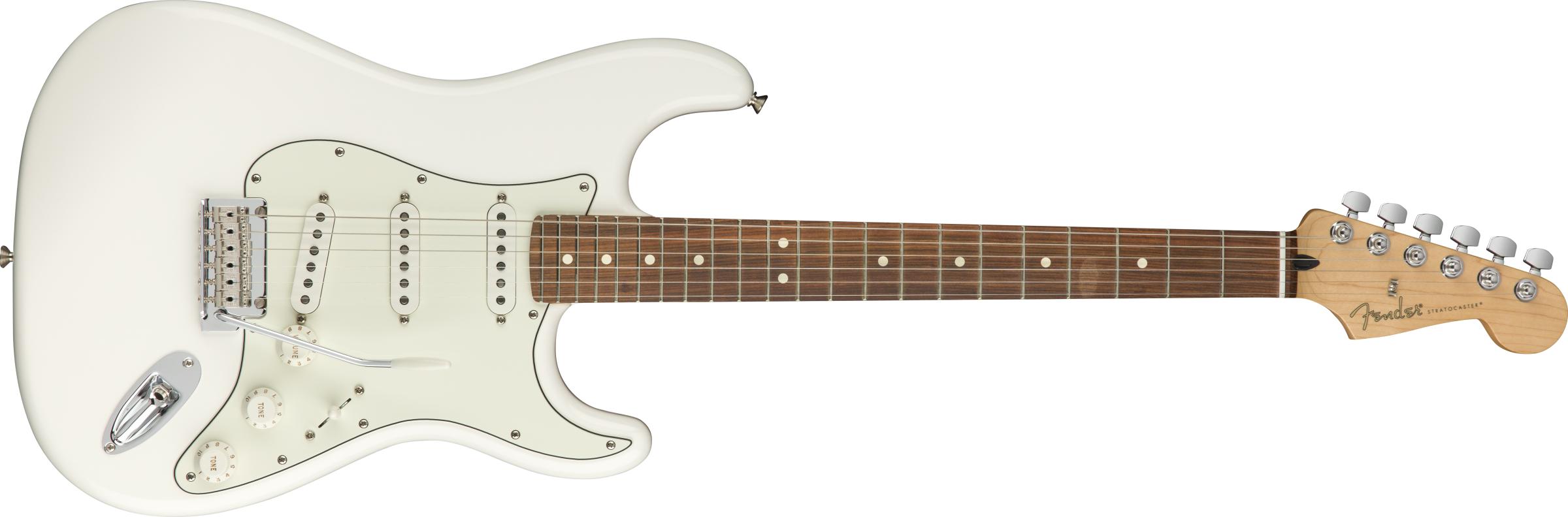 Fender Player Strat SSS PF Polar White