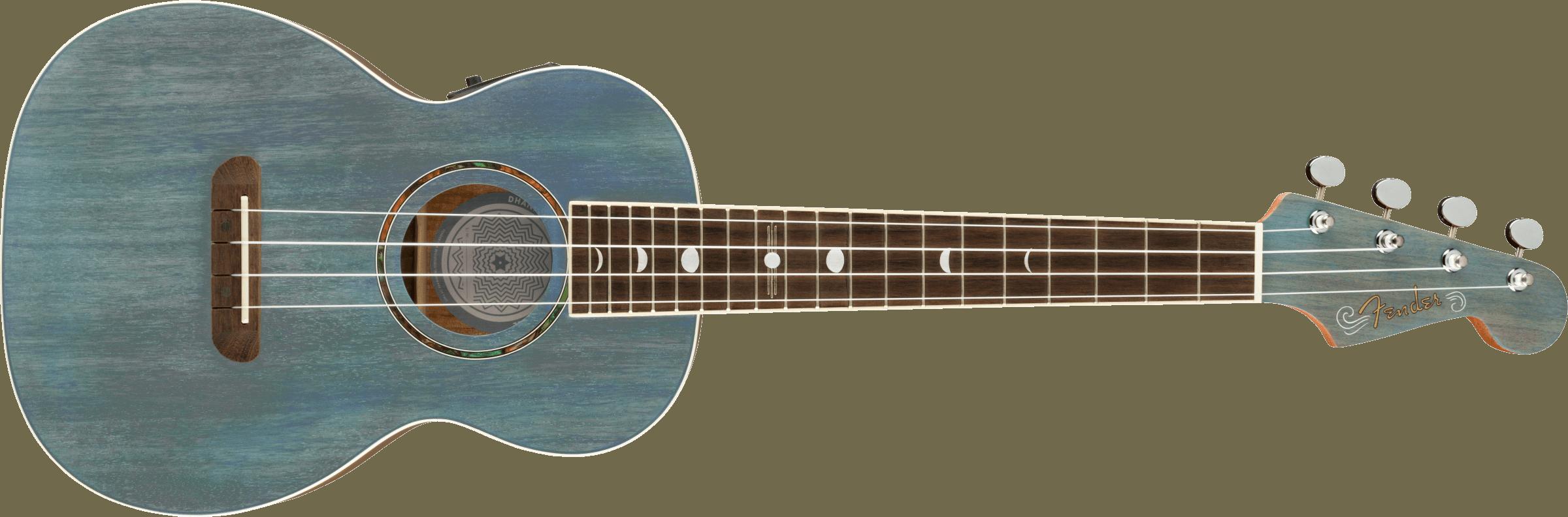 Fender Dhani Harrison Tenor Uke Turquoise