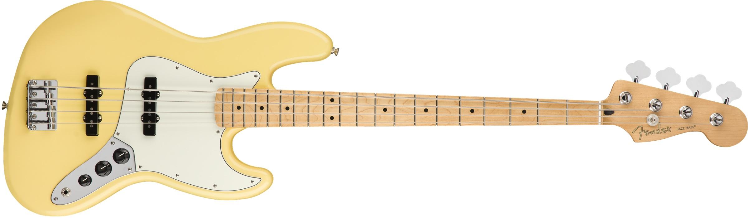 Fender Player Jazz Bass M Buttercream