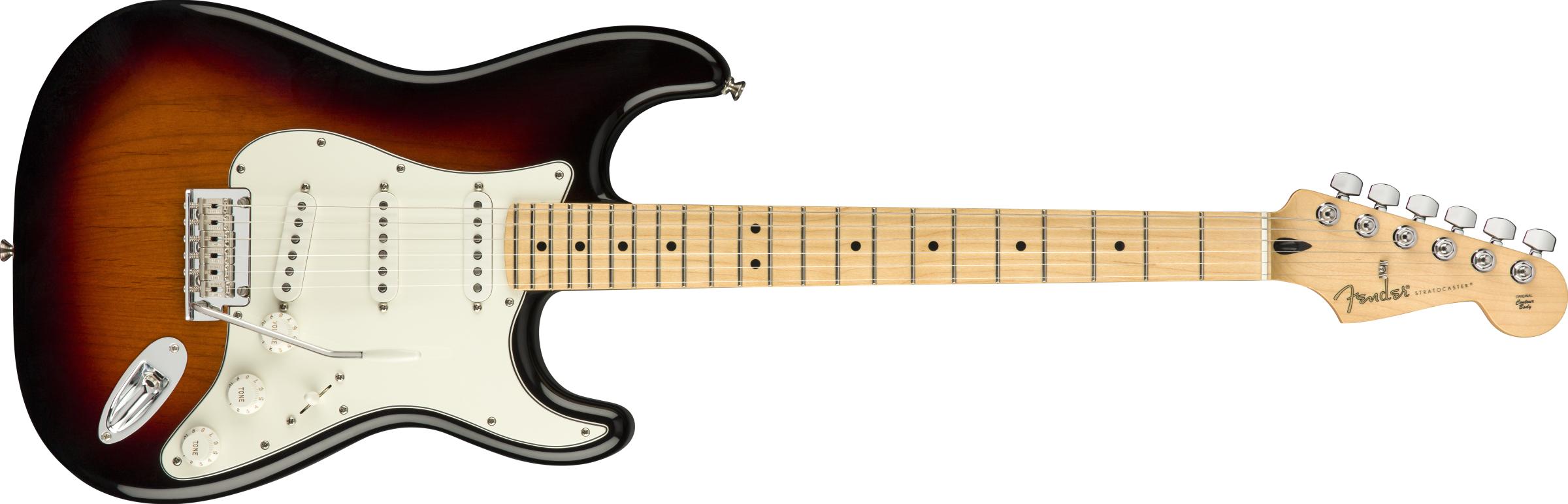 Fender Player Strat SSS M 3-Tone