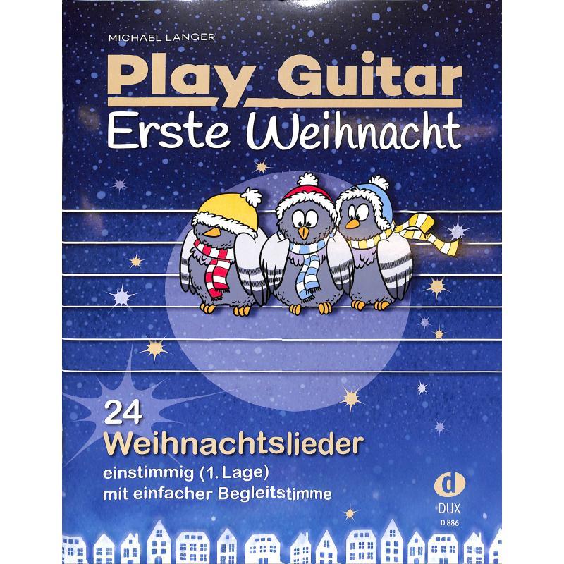 Langer Play Guitar Erste Weihnacht